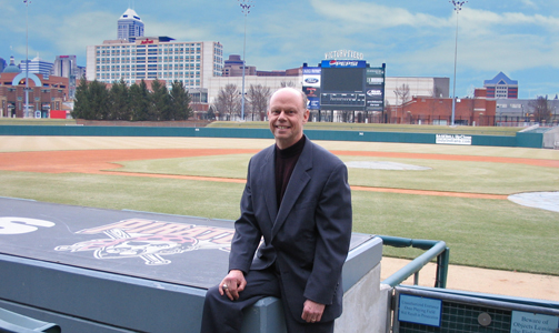 Howard Kellman at Victory Field